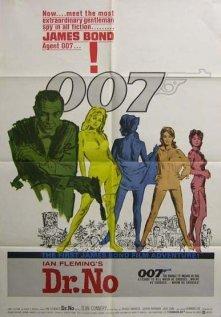 Dr. No, U.S. One Sheet, 1962, Folded