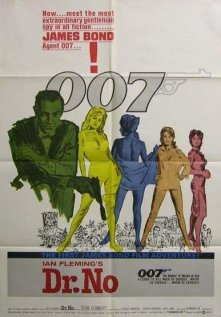 Dr. No, U.S. One Sheet, 1962, Folded