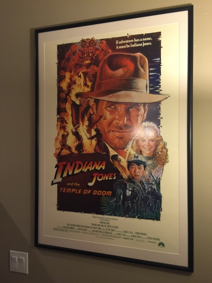 Movie Poster Frame - Indiana Jones